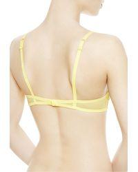 La Perla   Yellow Balconette Bra   Lyst