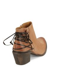 Klub Nico | Natural Berta Leather Ankle Boots | Lyst
