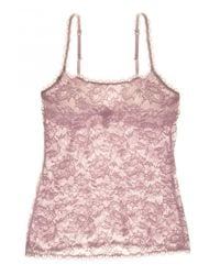 Cosabella Brown Never Say Never Sassie Lace Camisole
