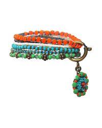 Miranda Konstantinidou Chez Carré Y. | Multicolor Glamour D'afrique Elastic Bracelet | Lyst