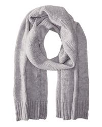 MICHAEL Michael Kors - White Seed Stitch Scarf - Lyst