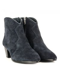 Ash - Blue Hurrican Ankle Boots - Lyst