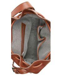 Alexander Wang - Brown Prisma Drawstring Hobo Bag - Natural - Lyst