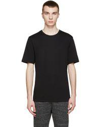 Helmut Lang Black Crewneck T-shirt for men