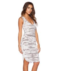Saint Grace | Gray Vesper Mini Dress | Lyst