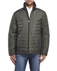 Tumi | Green Quilted Jacket for Men | Lyst