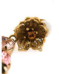 Dolce & Gabbana   Multicolor Clipon Earrings   Lyst