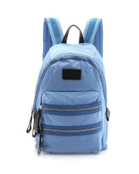 Marc By Marc Jacobs Blue Domo Arigato Mini Navy Backpack