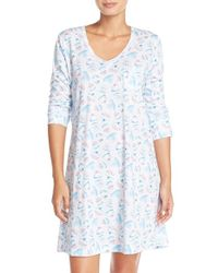 Carole Hochman - Blue Sleep Shirt - Lyst