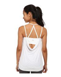 Beyond Yoga White Goddess Tank Top
