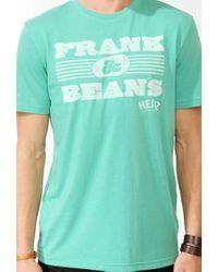 Forever 21 - Green Frank & Beans Tee for Men - Lyst