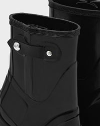 Hunter - Black Women's Original High Heel Boots - Lyst