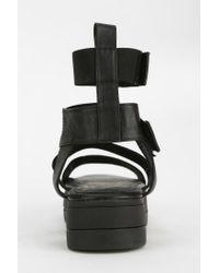 Yes - Black Janet Caged Flatform Sandal - Lyst