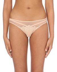 Dita Von Teese | Natural Black Dahlia Lace Bikini Briefs - For Women | Lyst