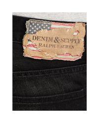 Denim & Supply Ralph Lauren - Black Low Skinny Jean for Men - Lyst