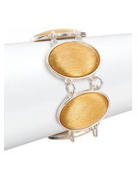 Stephanie Kantis - Metallic Glam Oval Link Bracelet - Lyst