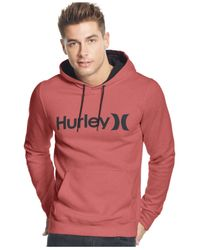 Hurley | Red Surf Club One And Only Dri-fit Hoodie for Men | Lyst