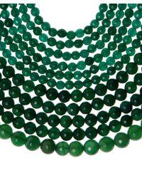 Rosantica - Green Jade Rassia Necklace - Lyst