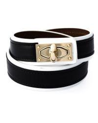 Givenchy - Black 'shark Tooth' Bracelet - Lyst