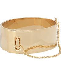Eddie Borgo - Metallic Safety-chain Cuff - Lyst
