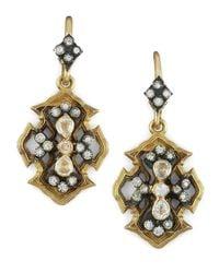 Armenta | Metallic Wings Of Fortune Earrings | Lyst