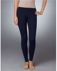 Hue | Blue Stretch Cotton Leggings | Lyst