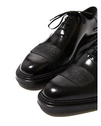 Yang Li Black Mens Lace Up Shoes for men
