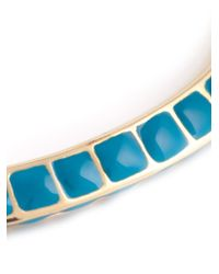 Aurelie Bidermann | Blue Enamel Bangle | Lyst