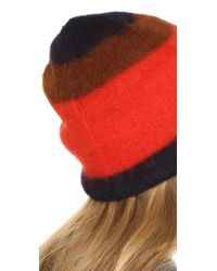 Rag & Bone - Black Petra Beanie Hat - Lyst