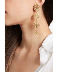 Chloé - Metallic Chloé Isaure Gold-tone Clip Earrings - Lyst