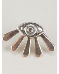 Pamela Love Metallic Eye Earring