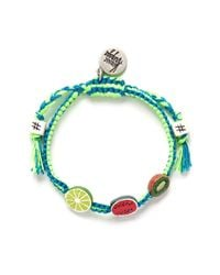 Venessa Arizaga | Green 'tropical Trio' Bracelet | Lyst