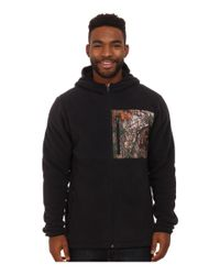 Under Armour | Black Caliber Sherpa Hoodie for Men | Lyst