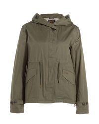 Woolrich - Prescott Eskimo Cotton Jacket - Green - Lyst