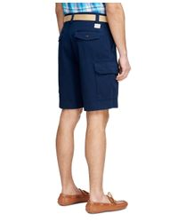"Brooks Brothers - Blue 10"" Cargo Shorts for Men - Lyst"