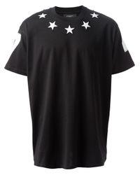Givenchy Black Star Tshirt for men