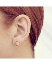 Coops London | Metallic Star Squeeze On Earrings | Lyst
