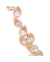 Stone - Pink Whisper 18kt Rose Gold Ear Cuff with White Diamonds - Lyst