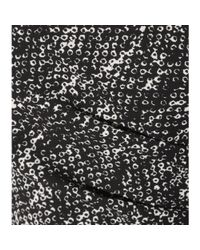Bottega Veneta - Black Printed Dress - Lyst