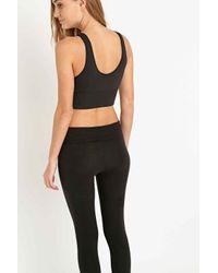 927fcdf0bf4e69 Nike Seamless Bralette In Black in Black - Lyst