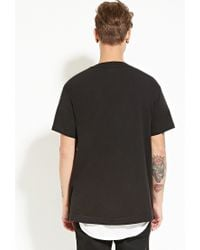 Forever 21 | Black Versalution Baseball Jersey for Men | Lyst
