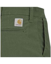Carhartt | Green Men's Sid Pants for Men | Lyst