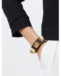 Givenchy - Black Studded Bracelet - Lyst