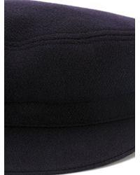 Étoile Isabel Marant Blue 'Evie' Newsboy Hat
