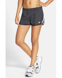 New Balance Black Print Running Shorts