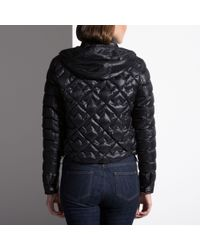 Bally Embroidered Down Jacket Women ́s Quilted Jacket In Black