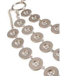 Moschino Metallic Jewelry Set