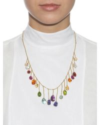 Pippa Small | Multi-stone & Yellow-gold Necklace | Lyst