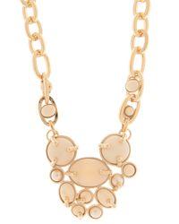Missoni - Metallic Stone Details Necklace - Lyst