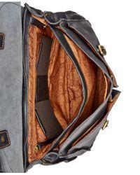 Patricia Nash | Black Nash By Men's Leather Dowel Briefcase | Lyst